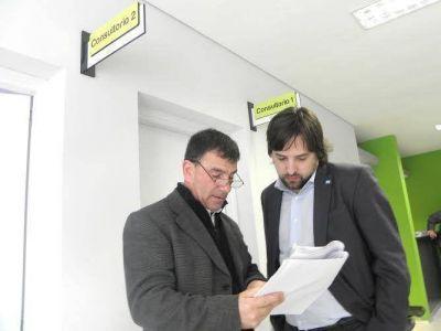 Gestiones de Hernán Bertellys con el Viceministro de Salud de Nación