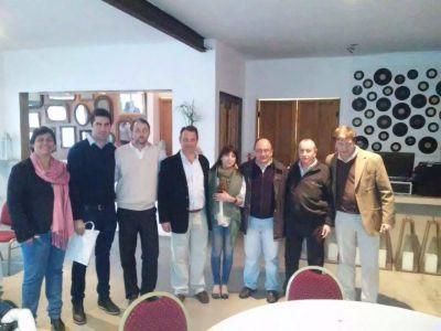 José Luis Salomón participó de una importante reunión con los máximos candidatos nacionales y provinciales de Cambiemos