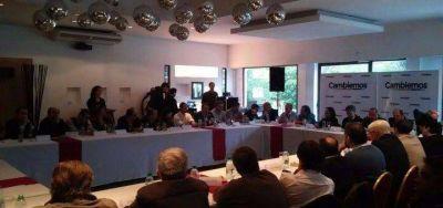 Los candidatos a intendente por Cambiemos de la sección se reunieron con Mauricio Macri