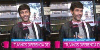 Tras la tensión con Pol-ka, habló Mariano Martínez: