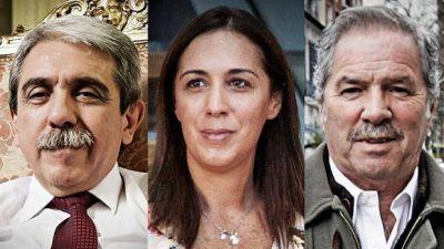 Aníbal, Vidal y Solá, juntos por primera vez pero sin debatir