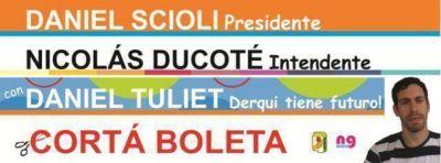 """Daniel Tuliet: """"Ducoté es el único candidato que puede hacer que Derqui deje de estar relegado"""""""