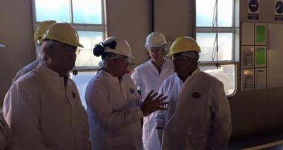 Elecciones: Salazar visitó Arcor y espera la visita de Salvador