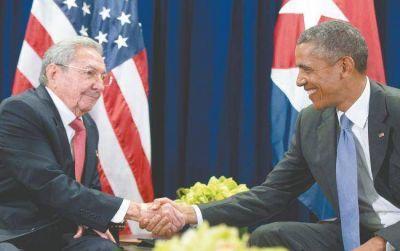 El fin del bloqueo, tema de fondo en el encuentro entre Raúl Castro y Obama