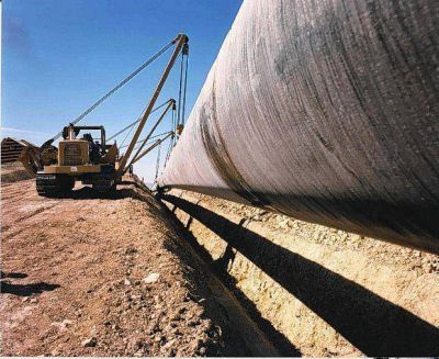 Comienza la potenciación del gasoducto Villarino-Patagones