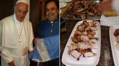 Una parrilla hizo que el Papa Francisco se sienta en Argentina cuando estuvo en Nueva York