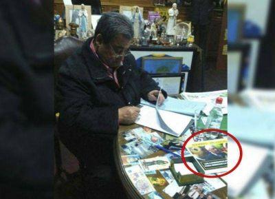 Con las manos en la masa: el intendente de Tres de Febrero fue descubierto en plena