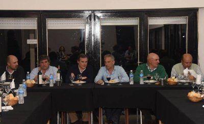 Eseverri se reunió con la Comisión Directiva del Club Estudiantes