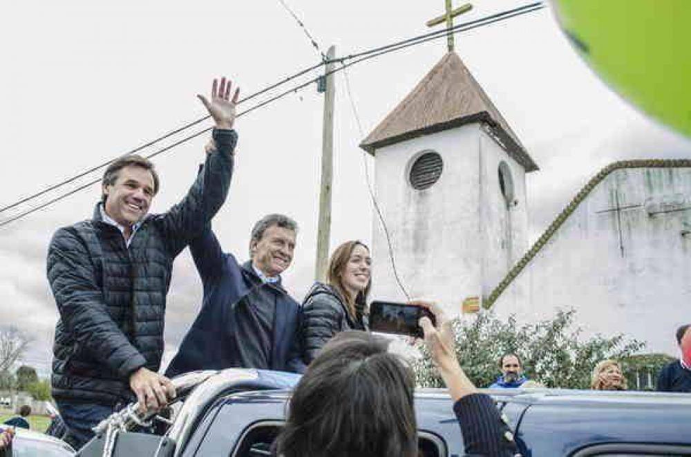 """""""A Mauricio Macri le voy a exigir que construya la autovía"""""""
