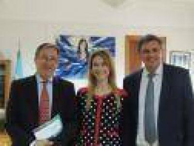 Lenzi se reunió con la Ministra de Industria de la Nación