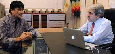 Si gana Aníbal Fernández, ¿Gasparini se va a Provincia?