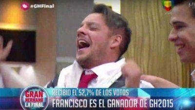Francisco Delgado es el ganador de Gran Hermano 2015