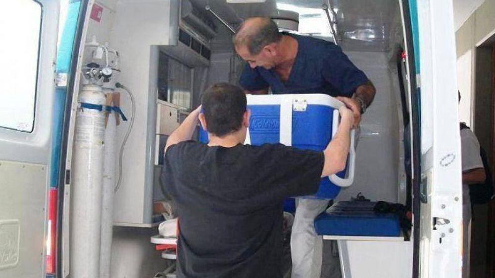Una nueva donación de órganos se llevó adelante en Entre Ríos