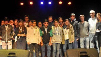 """Curuchet en la """"Semana Deportivo Cultural de los Estudiantes"""" de Madariaga"""