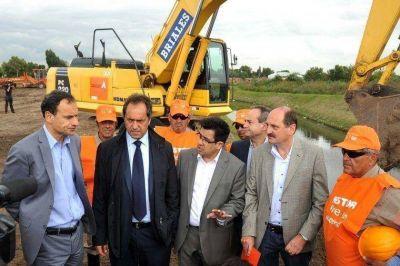 La Legislatura le dio más endeudamiento a Scioli para terminar las obras post inundación