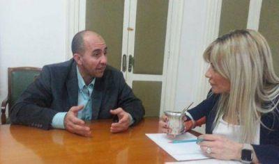 Otamendi: El Candidato del FpV, Javier Pereyro, con agenda completa