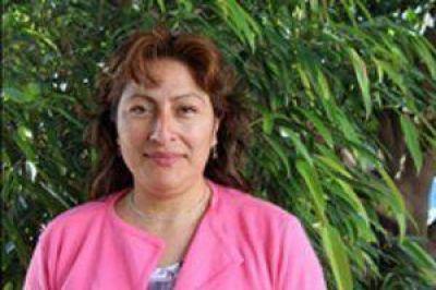 """Gloria Peña con el peronismo: """"Páez nunca más"""""""