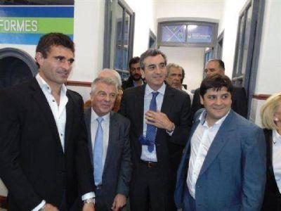 Con la presencia de Randazzo, se inauguró el Centro de Documentación Rápida