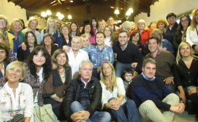 Michetti visitó Necochea en apoyo a Aued