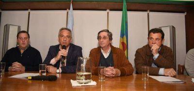 Olavarría: con Eseverri, se lanzó la Expo Olavarría que organizan la Sociedad Rural y la Cámara Empresaria