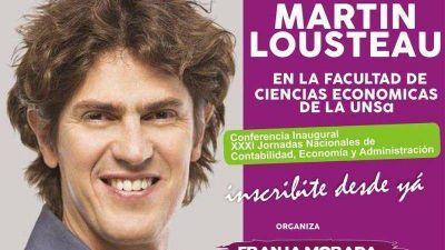 Mart�n Lousteau en la Facultad de Ciencias Econ�micas de la UNSa