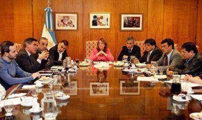 Alicia Kirchner se reunió con pesqueras y mineras