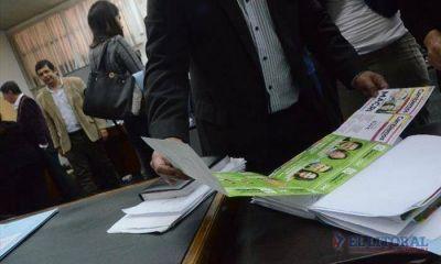 Boletas: ECO se alista para acudir a la Cámara Electoral
