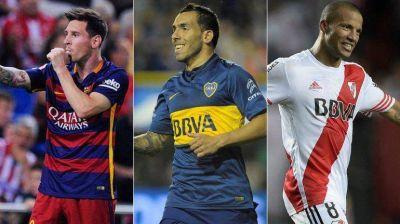 Ya están los nominados al Balón de Oro: Messi, Tevez, Agüero... ¡Y Carlos Sánchez!