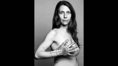 Las famosas se sumaron a la lucha contra el cáncer de mama