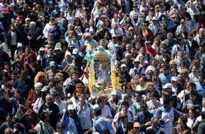Miles de fieles realizarán la tradicional peregrinación a Luján