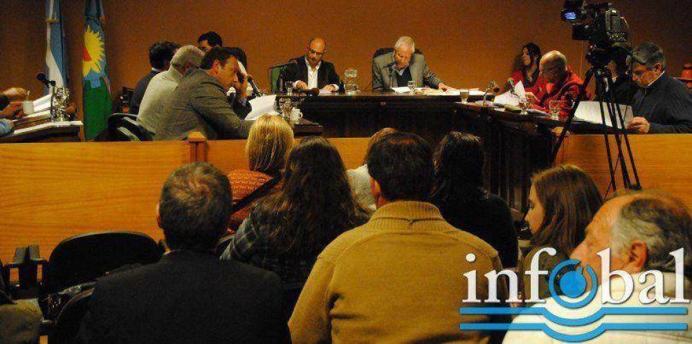 Concejo Deliberante: Una sesión caliente