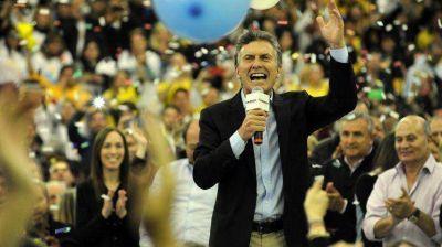 Mauricio Macri apuntó al voto radical y dijo