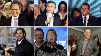 Libros, películas y cantantes favoritos: los gustos de los seis candidatos a Presidente