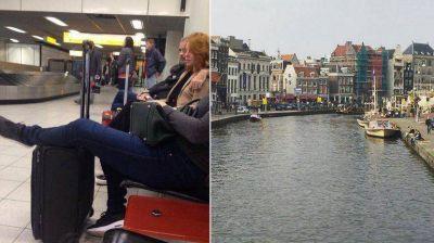 Viaje romántico: Jorge Rial partió rumbo a Europa junto a su novia Agustina Kämpfer