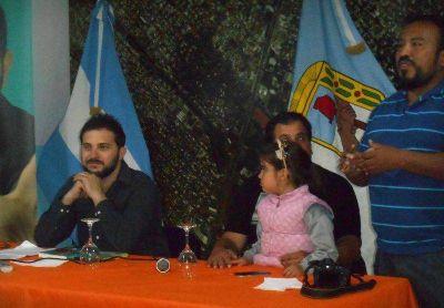 """Brancatelli en San Martín: """"Si Cristina dijo que Scioli es el mejor para continuar el proyecto, hay que confiar"""""""