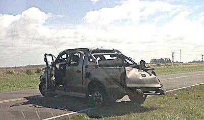 Familia marplatense se accidentó en la ruta 11: un hombre herido grave