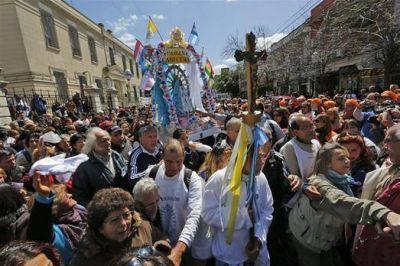 En Luján, monseñor Sucunza pidió cuidar la Patria resolviendo maduramente el voto