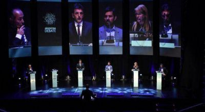 Sin Scioli, los presidenciables debatieron en la Universidad de Buenos Aires