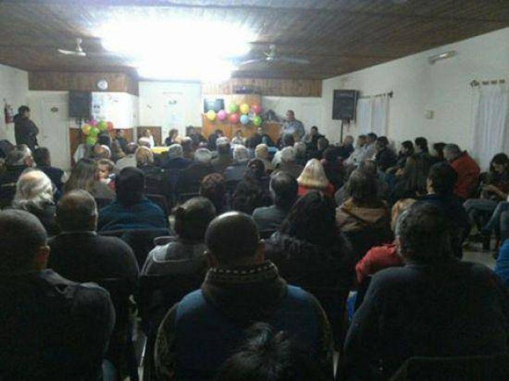 Mechongué: El Frente Cambiemos presentó su lista
