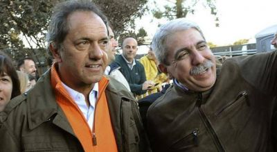 Asoman Scioli Presidente y Aníbal Gobernador