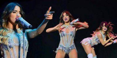 Lali Espósito brilló como telonera en el show de Katy Perry en Argentina