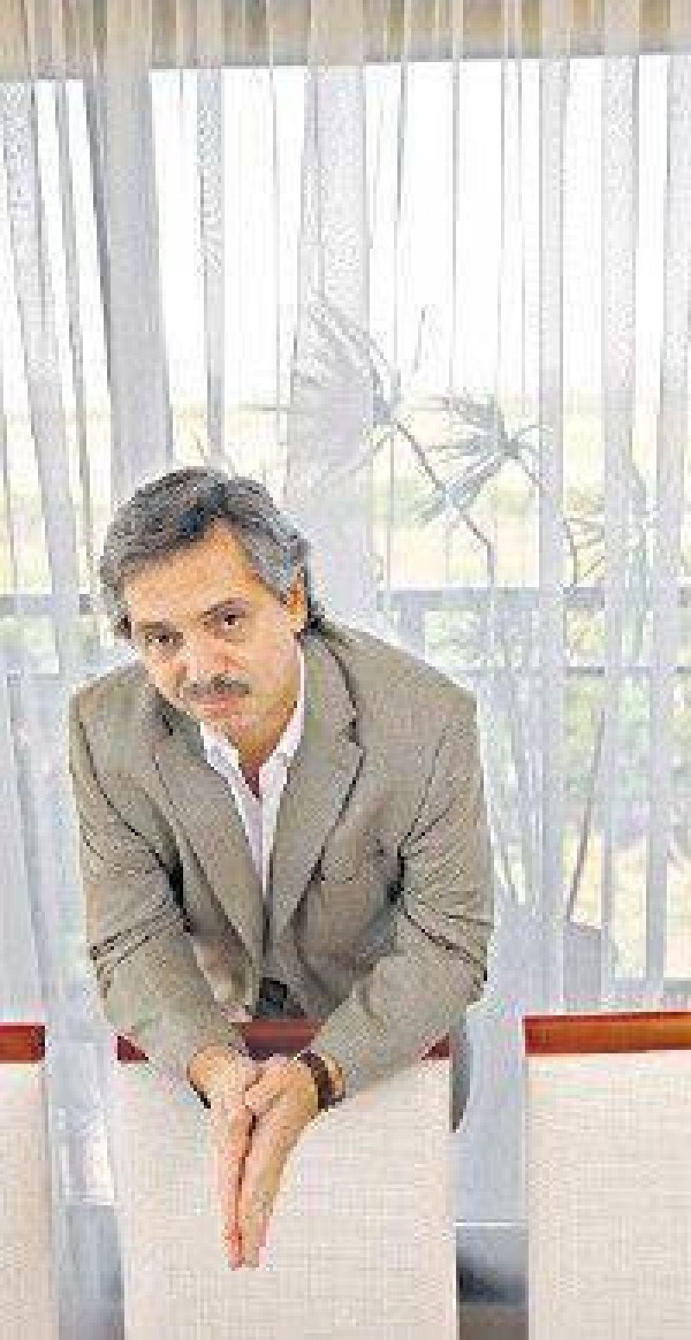 Alberto Fernández acusó al Gobierno de haberlo espiado