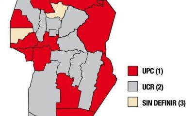 UPC controlará la mayoría de municipios en trece departamentos y la UCR en otros once
