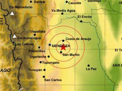 Tembló en Mendoza durante la tarde de este lunes: fue el segundo movimiento del día en la provincia