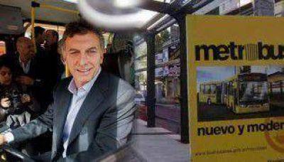 Macri inauguró el Metrobus de la Autopista 25 de Mayo
