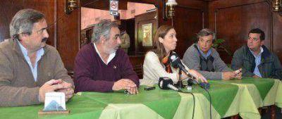 """María Eugenia Vidal: """"Hemos sido claros en la propuesta de eliminar los registros a las exportaciones"""""""