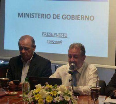 El 90 por ciento del presupuesto del Ministerio de Gobierno va al área seguridad
