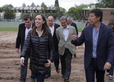 Vidal, Posse y Montenegro recorrieron San Isidro