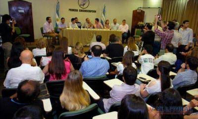Cr�ticas y propuestas encendieron el debate local de los candidatos a ediles