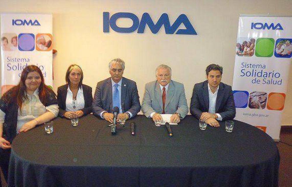 Inauguraron la nueva sede regional San Isidro de IOMA en Martínez